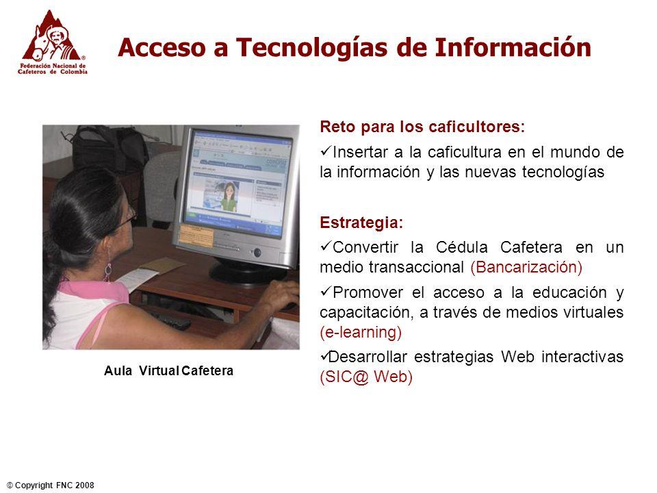 Acceso a Tecnologías de Información
