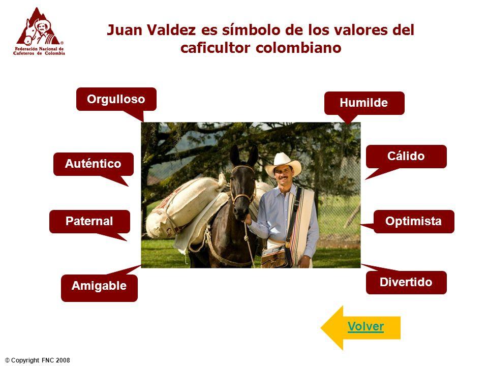 Juan Valdez es símbolo de los valores del caficultor colombiano