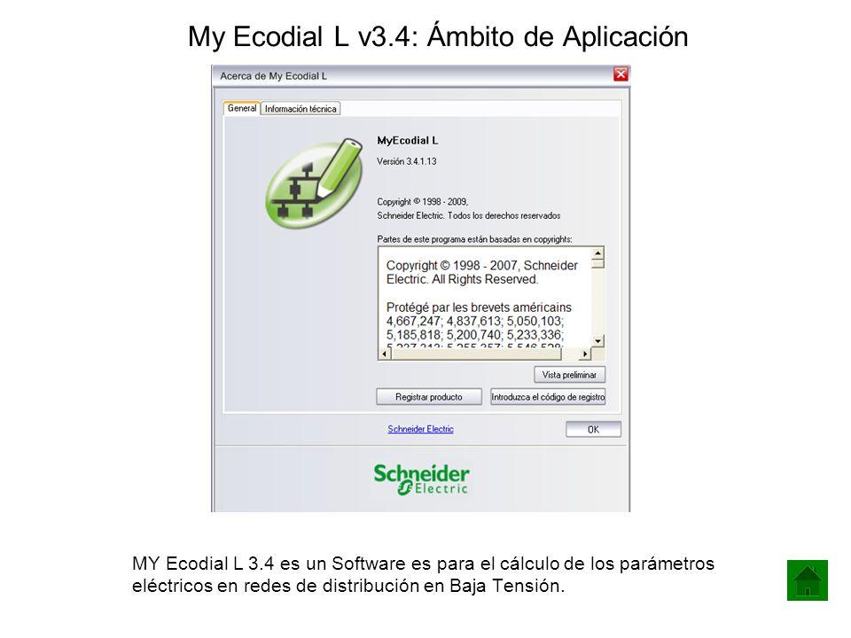 My Ecodial L v3.4: Ámbito de Aplicación