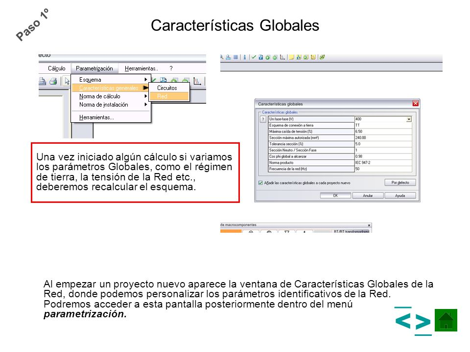 Características Globales