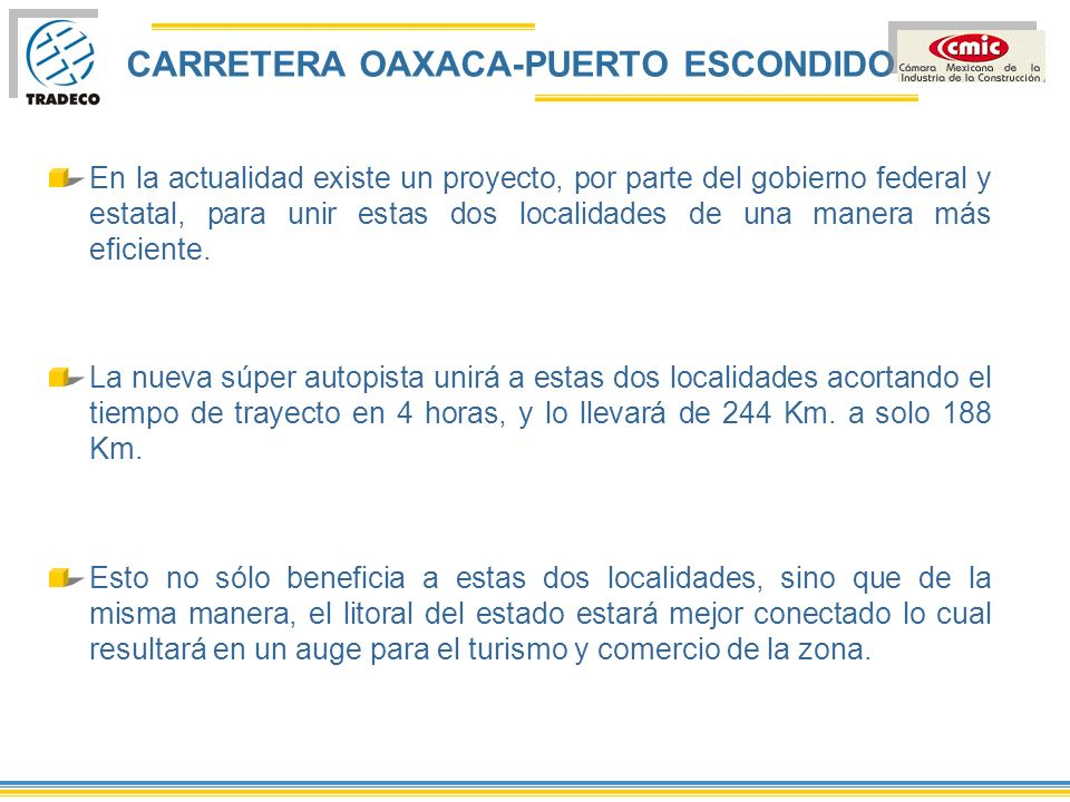 CARRETERA OAXACA-PUERTO ESCONDIDO