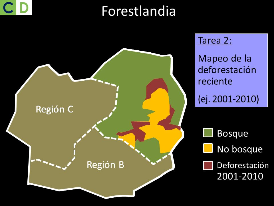 Forestlandia Task 1: Mapping current forest cover Tarea 2: