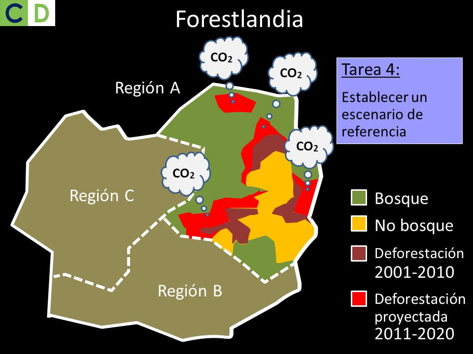 Forestlandia Tarea 4: Región A Región C Región C Región C Bosque