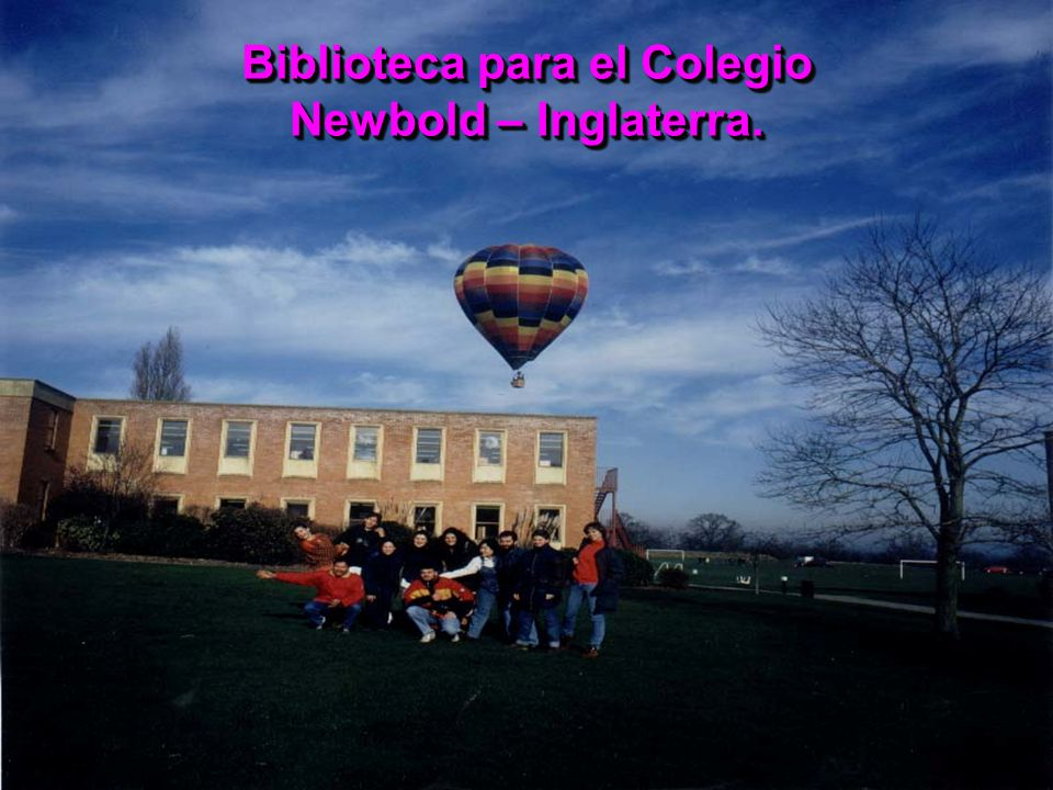 Biblioteca para el Colegio Newbold – Inglaterra.