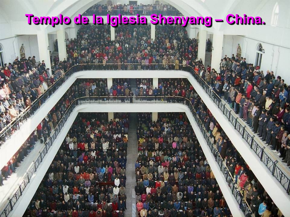 Templo de la Iglesia Shenyang – China.