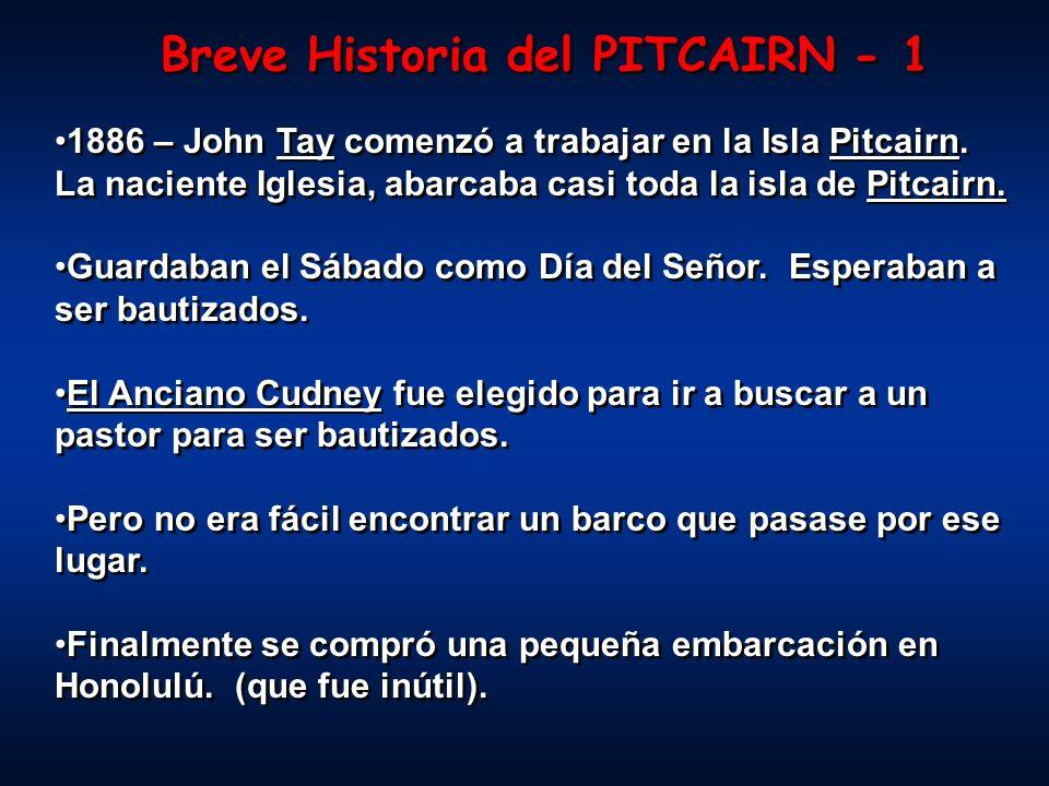 Breve Historia del PITCAIRN - 1