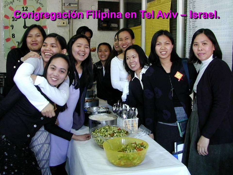 Congregación Filipina en Tel Aviv – Israel.