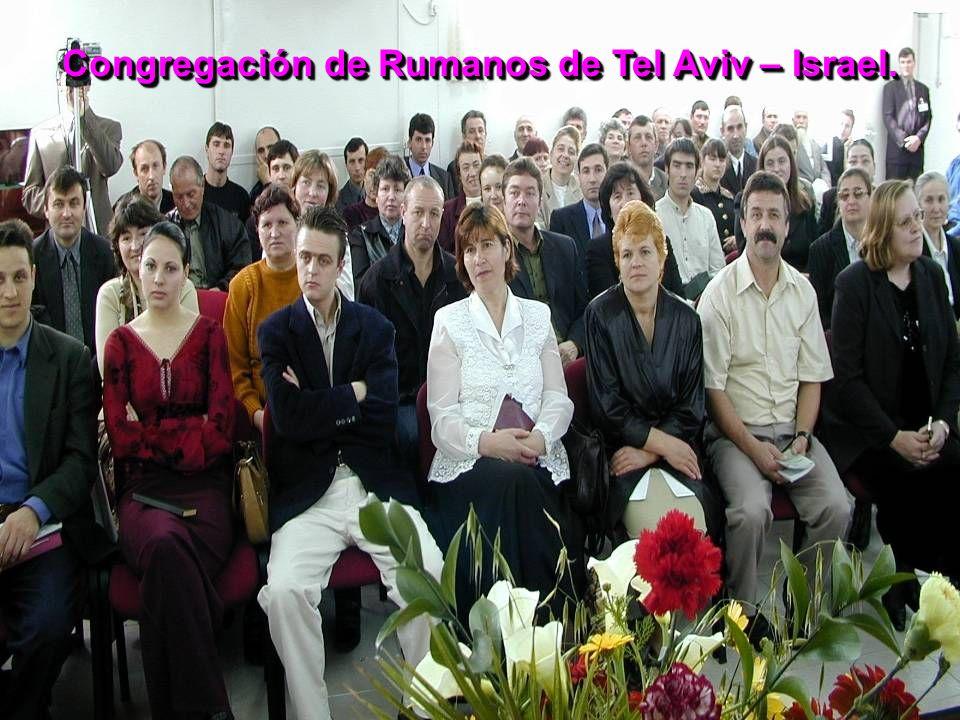 Congregación de Rumanos de Tel Aviv – Israel.
