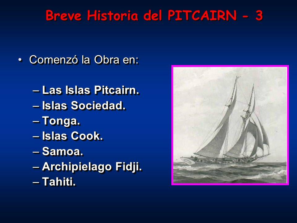 Breve Historia del PITCAIRN - 3