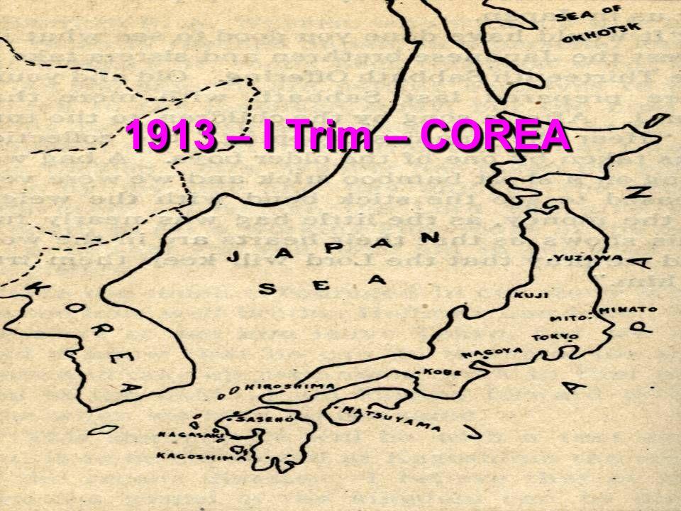 1913 – I Trim – COREA