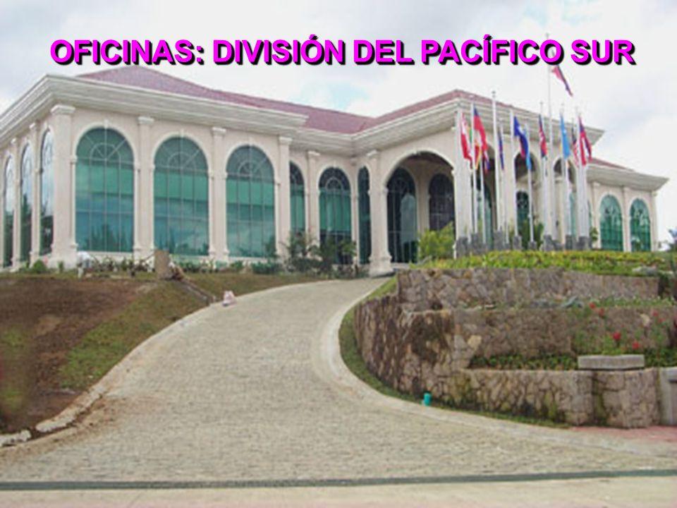 OFICINAS: DIVISIÓN DEL PACÍFICO SUR