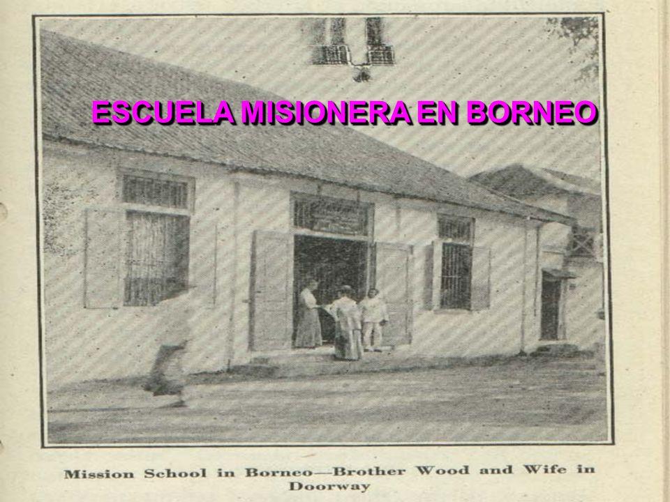 ESCUELA MISIONERA EN BORNEO