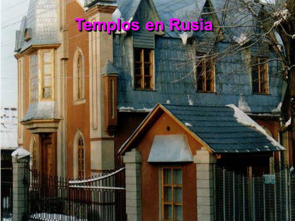 Templos en Rusia
