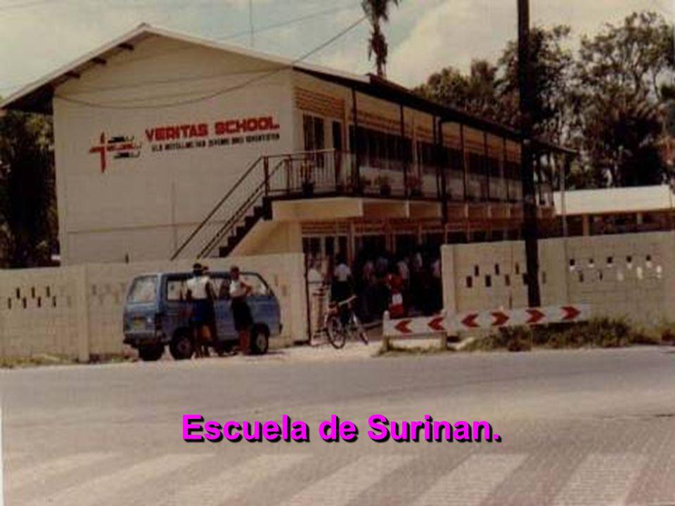 Escuela de Surinan.