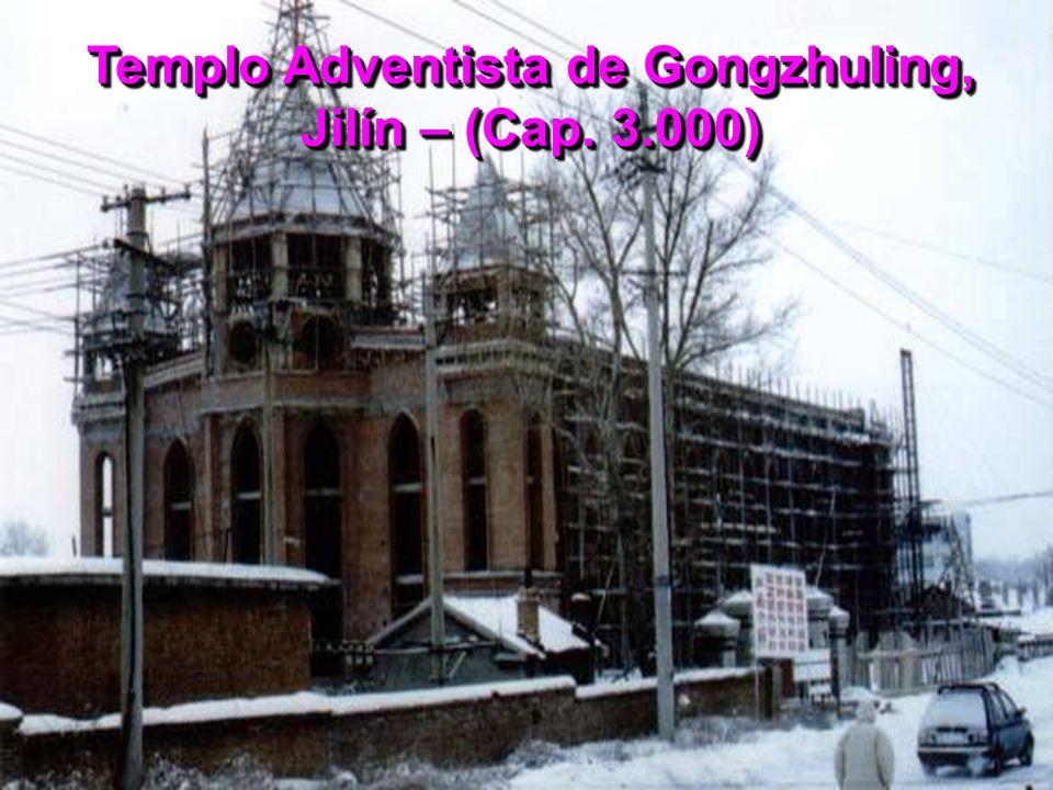 Templo Adventista de Gongzhuling, Jilín – (Cap. 3.000)