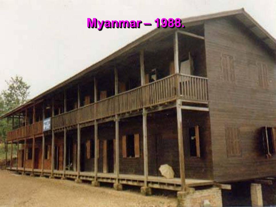 Myanmar – 1988.