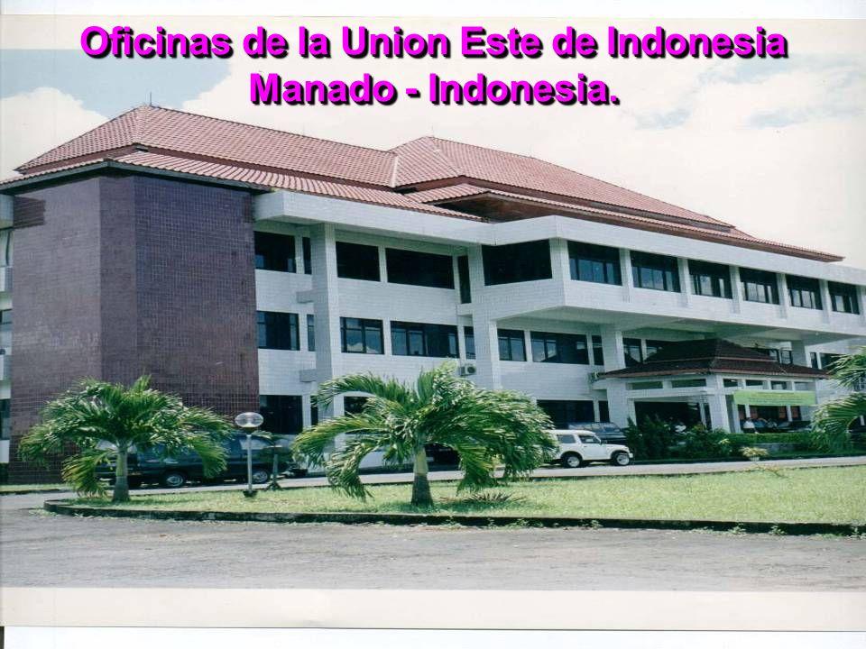 Oficinas de la Union Este de Indonesia Manado - Indonesia.