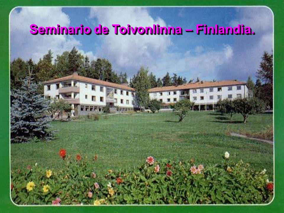 Seminario de Toivonlinna – Finlandia.