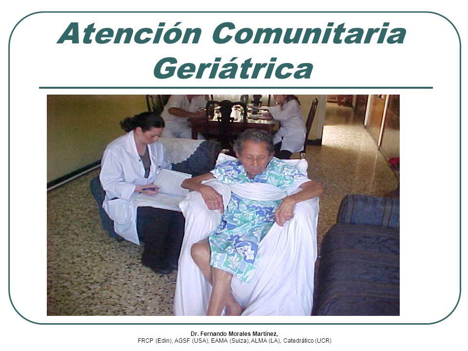 Atención Comunitaria Geriátrica