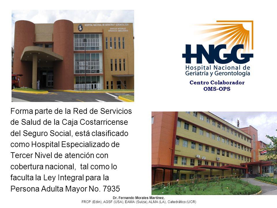 Centro Colaborador OMS-OPS Dr. Fernando Morales Martínez,