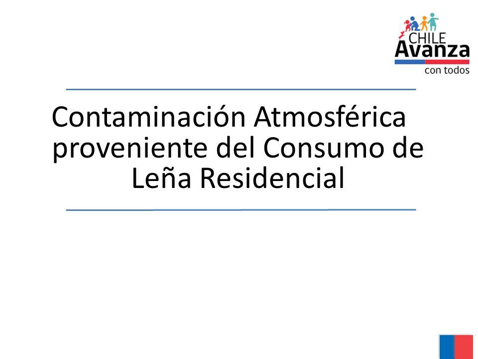 Contaminación Atmosférica proveniente del Consumo de Leña Residencial