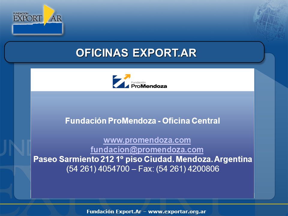 Fundación ProMendoza - Oficina Central