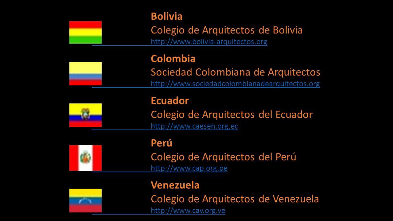 Colegio de Arquitectos de Bolivia Colombia