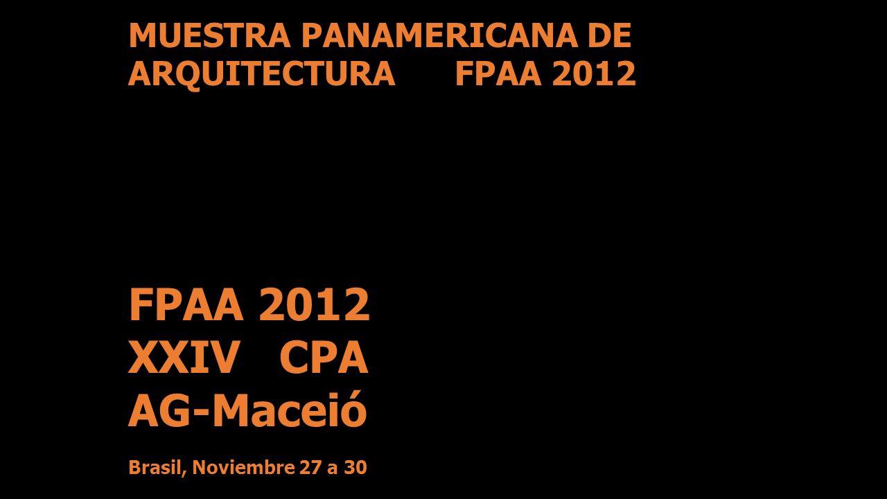 FPAA 2012 XXIV CPA AG-Maceió