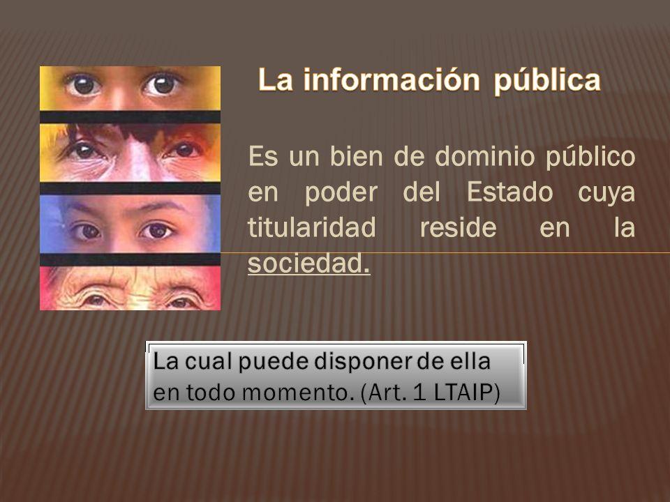 La información pública