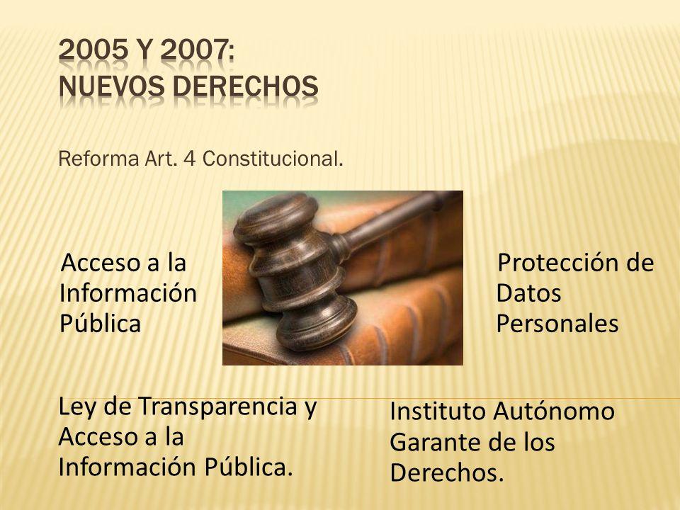 Reforma Art. 4 Constitucional.