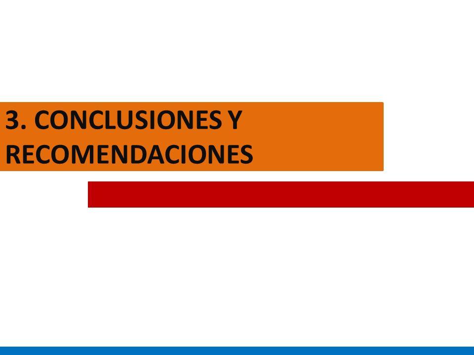 3. CONCLUSIONES Y RECOMENDACIONES