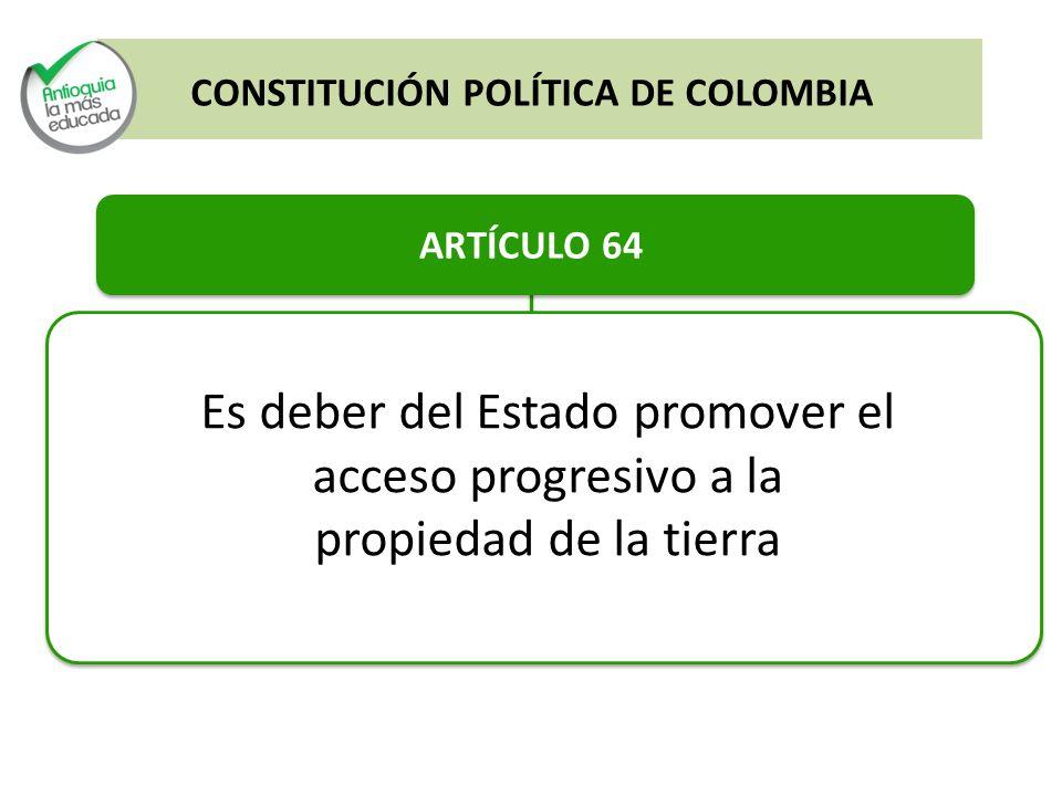 Es deber del Estado promover el acceso progresivo a la