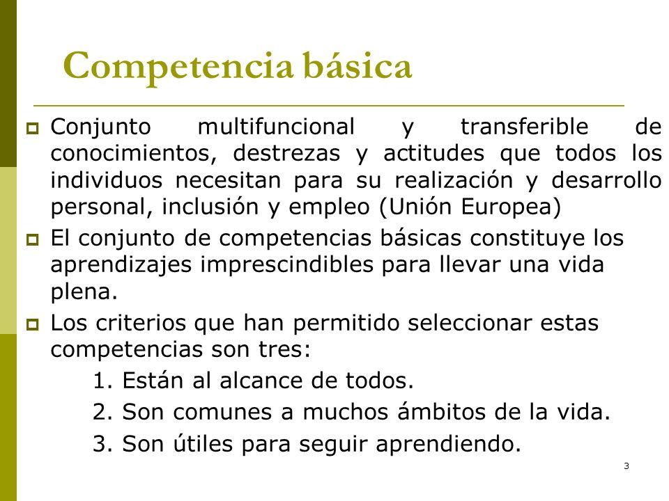 *16/07/96. Competencia básica.