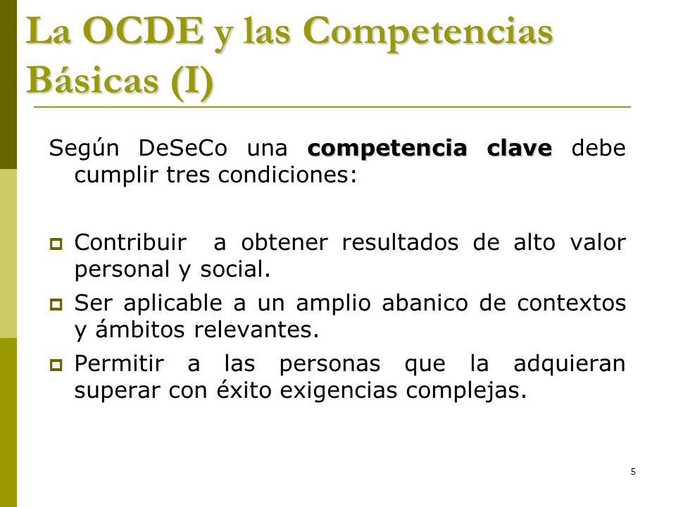 La OCDE y las Competencias Básicas (I)