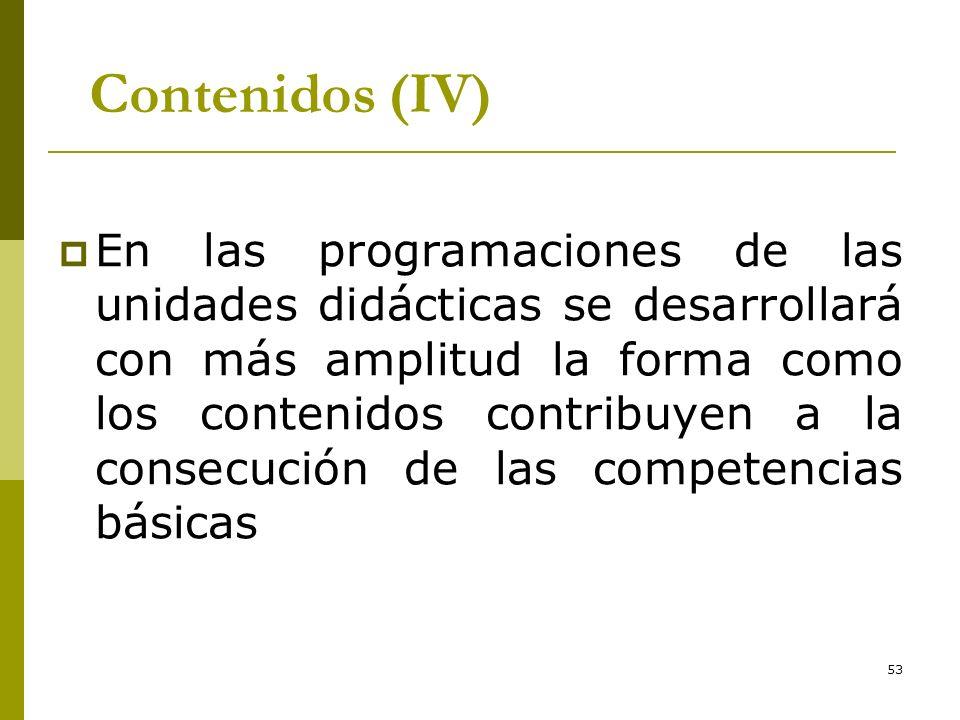 *16/07/96. Contenidos (IV)