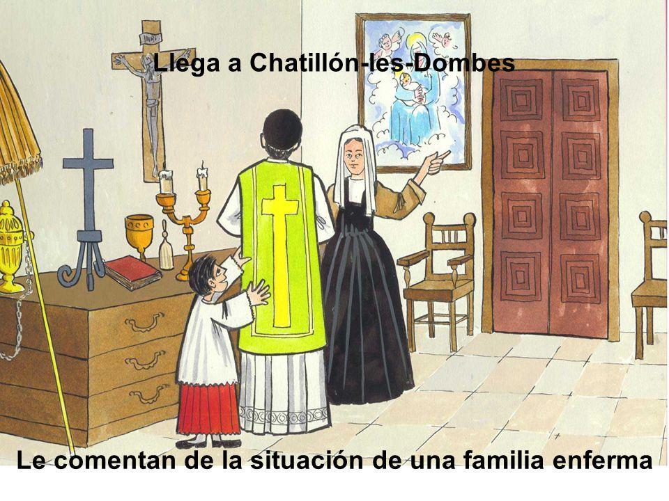 Llega a Chatillón-les-Dombes