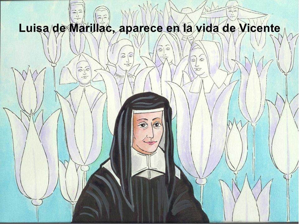 Luisa de Marillac, aparece en la vida de Vicente
