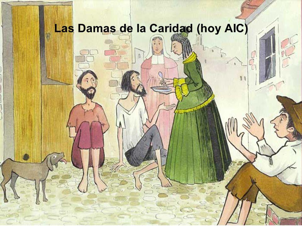 Las Damas de la Caridad (hoy AIC)