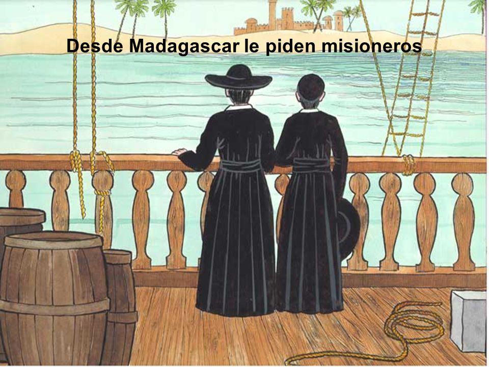 Desde Madagascar le piden misioneros