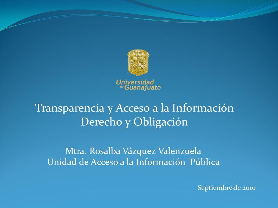 Transparencia y acceso a la informaci n derecho y for Oficina de transparencia y acceso ala informacion