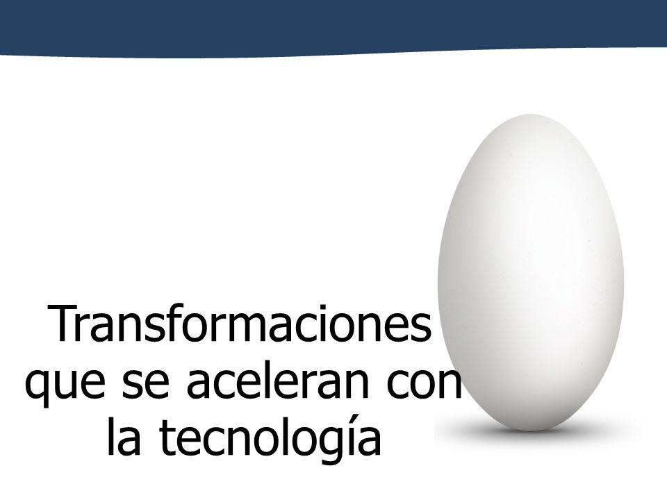 Transformaciones que se aceleran con la tecnología