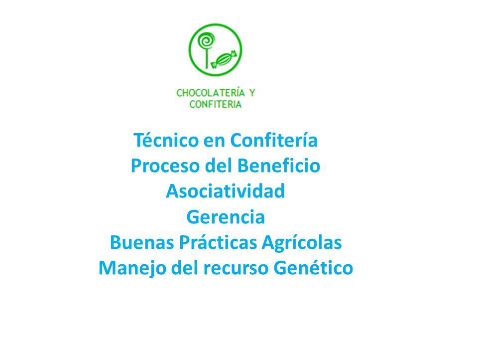 Buenas Prácticas Agrícolas Manejo del recurso Genético