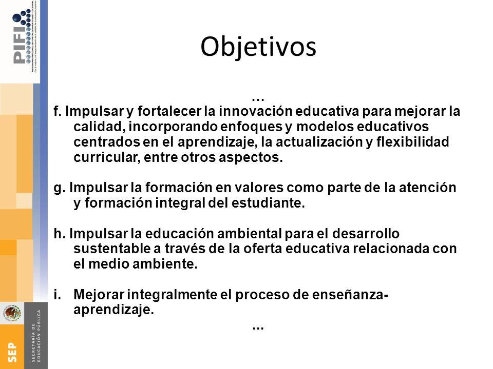 Objetivos …