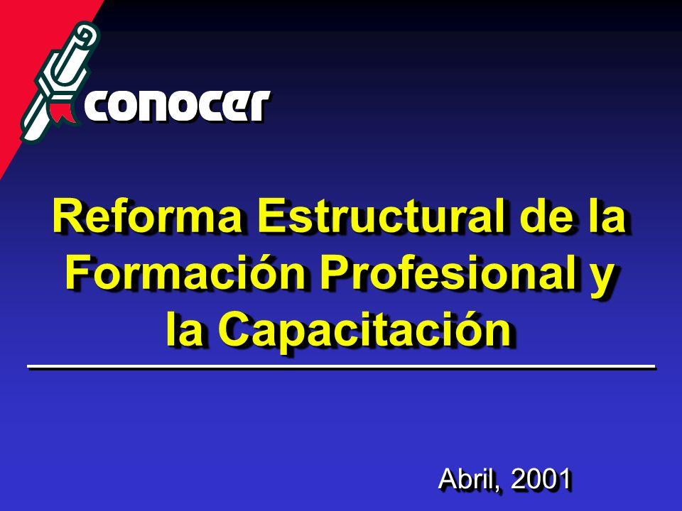 Reforma Estructural de la Formación Profesional y la Capacitación
