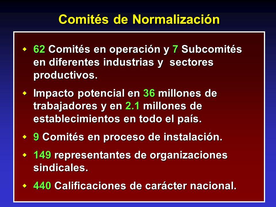 Comités de Normalización