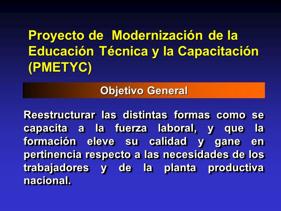 Proyecto de Modernización de la Educación Técnica y la Capacitación (PMETYC)