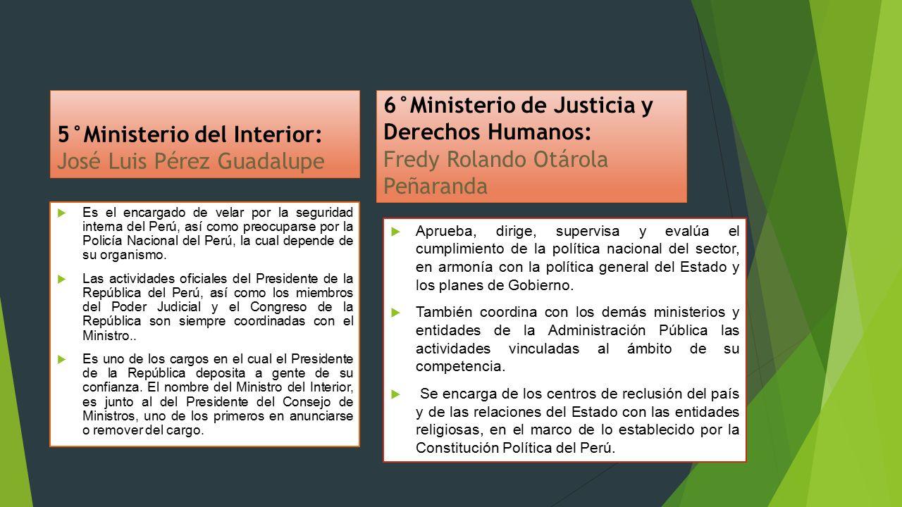 Divisiones de las funciones del poder en el estado ppt for Nombre del ministro de interior y policia