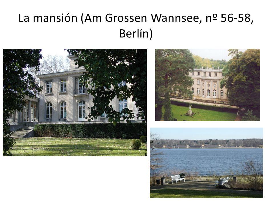 La mansión (Am Grossen Wannsee, nº 56-58, Berlín)