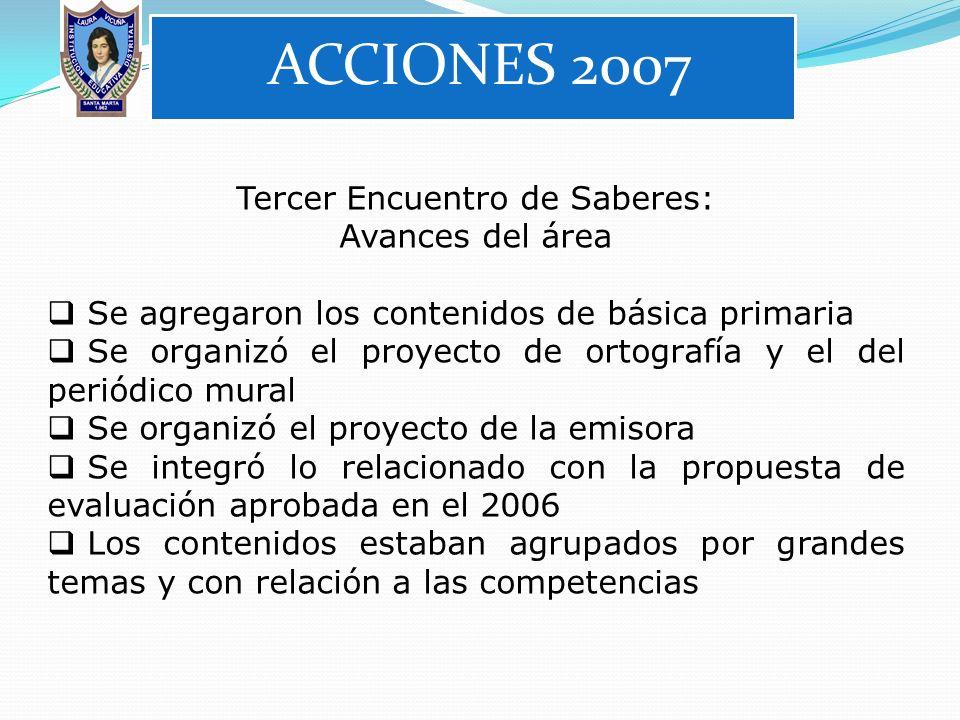 Tercer Encuentro de Saberes: