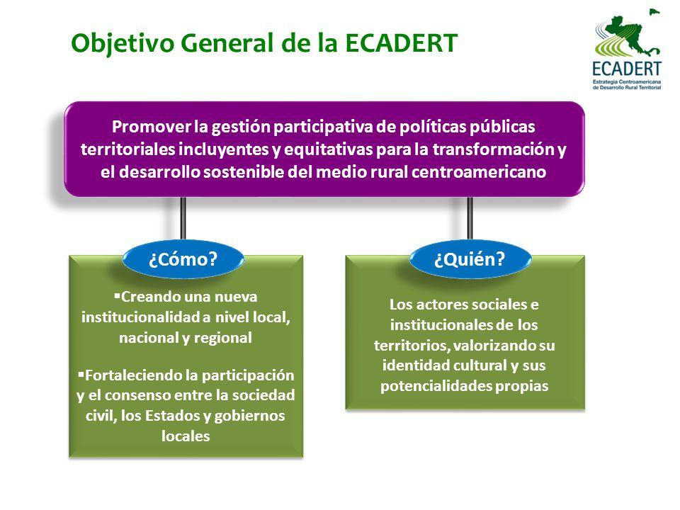 Objetivo General de la ECADERT